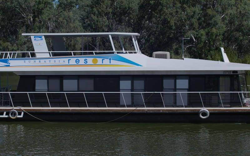 Sunraysia Resort Mildura – Houseboats